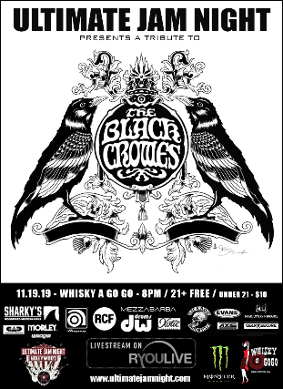 Ultimate Jam Night- Tribute to the Black Crowes