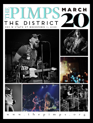 A Night With The Pimps at The District - Rockford, IL 61101