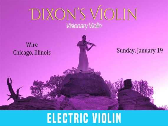 Dixon's Violin - Human Kindness Tour