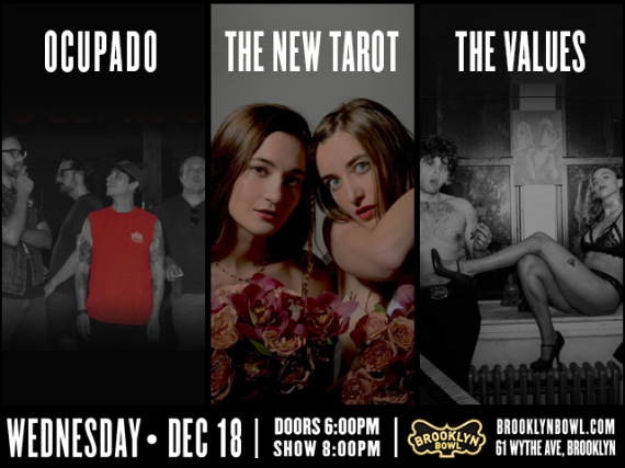 More Info for Ocupado + The New Tarot + The Values