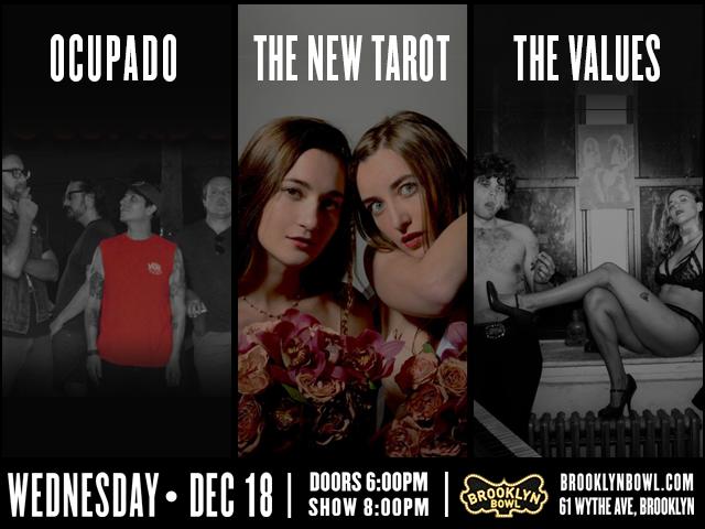 Ocupado + The New Tarot + The Values