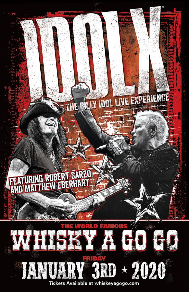 IDOL X (Tribute to Billy Idol)
