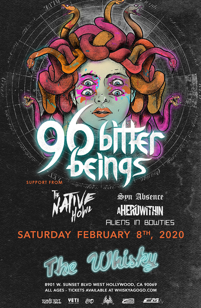 96 Bitter Beings, The Native Howl