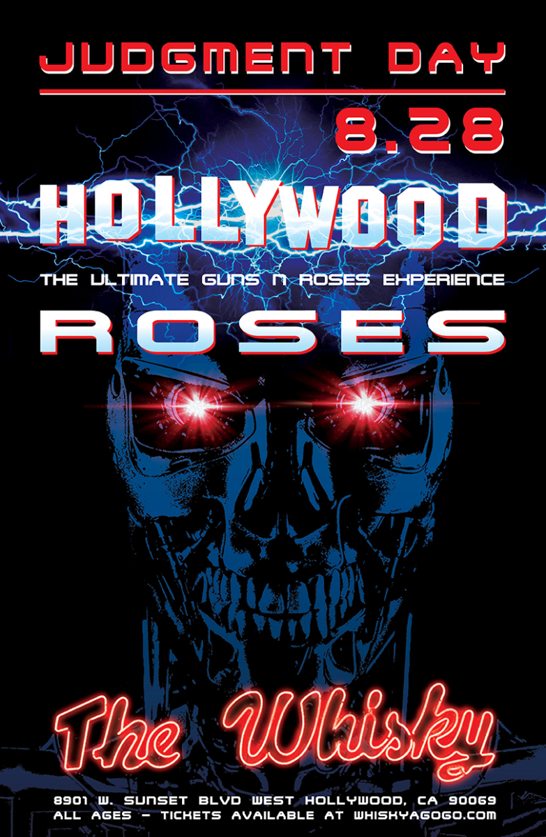 Hollywood Roses (A Tribute to Guns N Roses), Mesh Niagara
