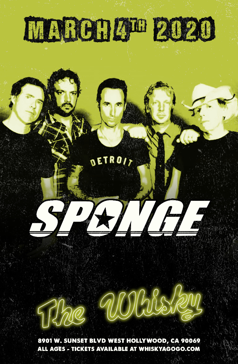 Sponge, Venrez, Fatal Dissent, High Quality Porn Music, The Midnight Club