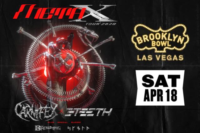 More Info for META X TOUR: CARNIFEX / 3TEETH