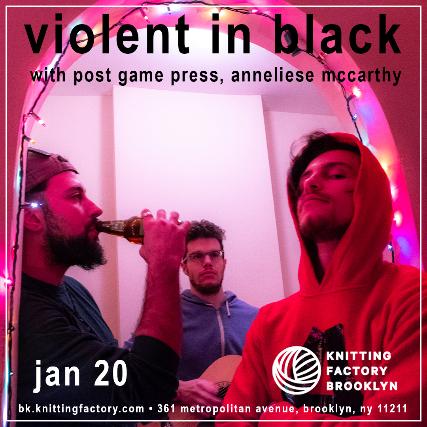Violent in Black, Post Game Press, Anneliese McCarthy