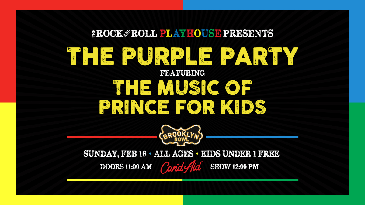 The Rock and Roll Playhouse Plays Music of Prince for Kids
