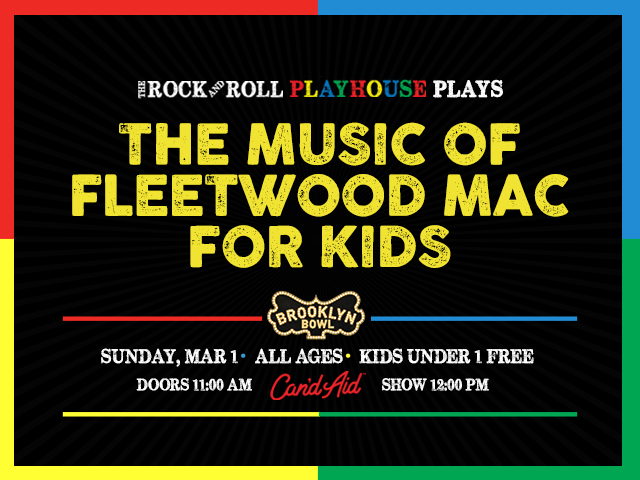 The Rock and Roll Playhouse Plays The Music of Fleetwood Mac for Kids