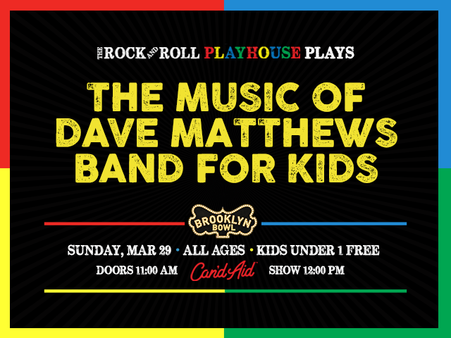 The Rock and Roll Playhouse Plays the Music of Dave Matthews Band for Kids