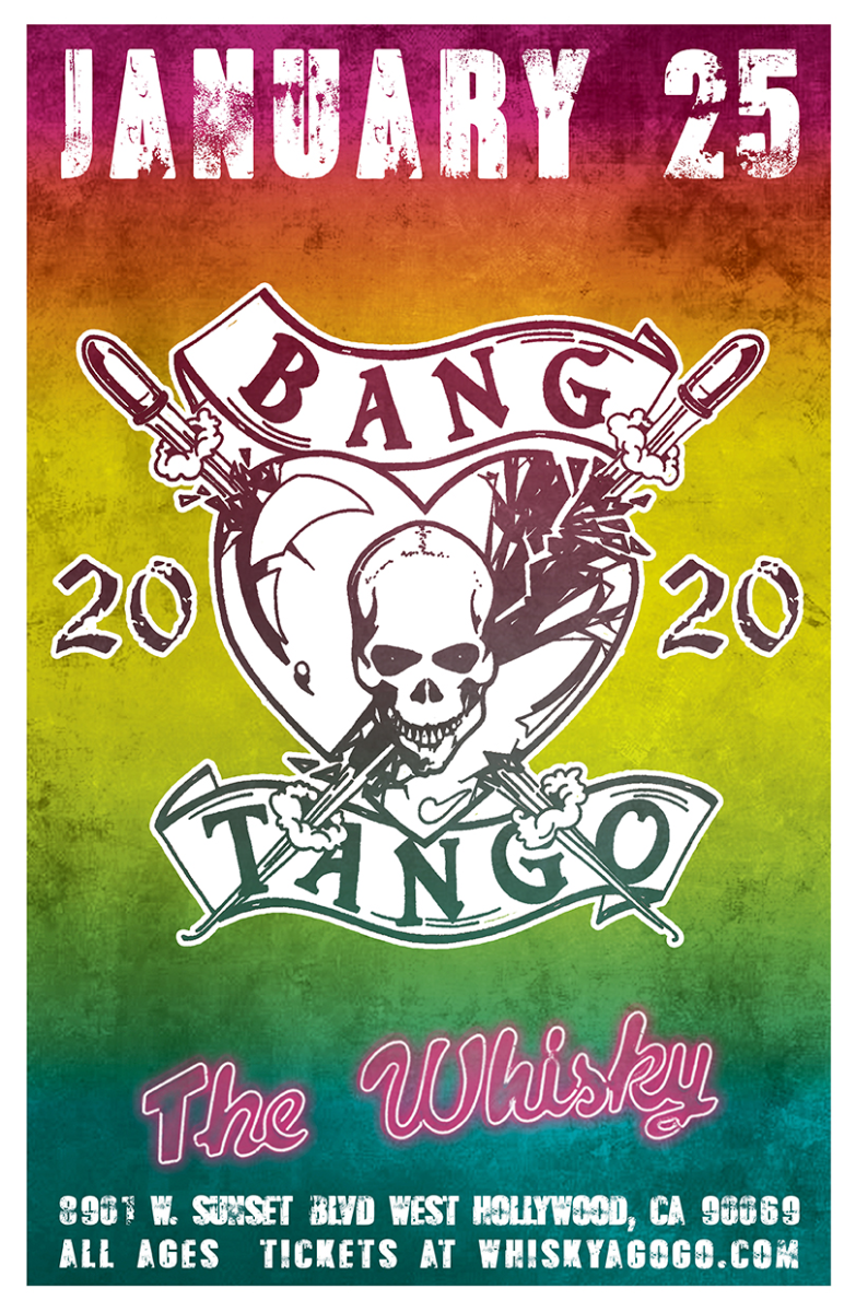 Bang Tango (All Original Members), Wicked Starr, White Collar, Stars From Mars