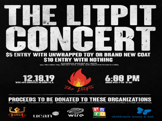 THE LITPIT CONCERT - Benefit Show