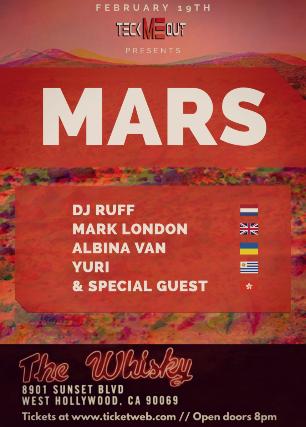 MARS at Whisky A Go Go