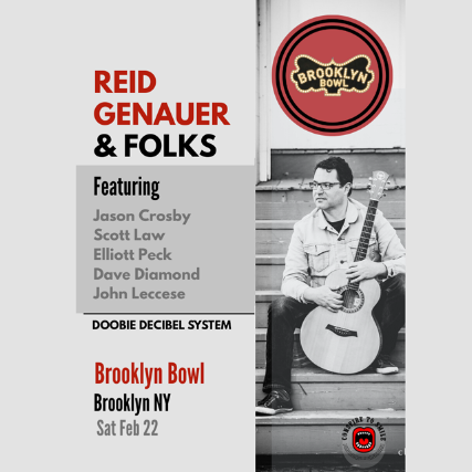More Info for Reid Genauer & Folks Feat. Jason Crosby, Scott Law, Dave Diamond, John Leccese