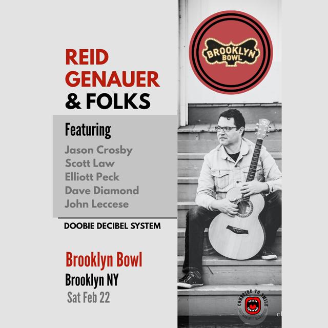 Reid Genauer & Folks Feat. Jason Crosby, Scott Law, Dave Diamond, John Leccese