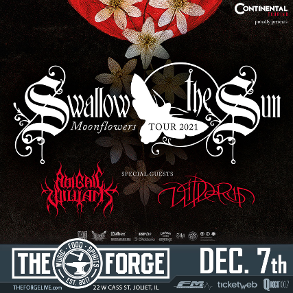 Swallow the Sun, Infected Rain, Wheel at The Forge
