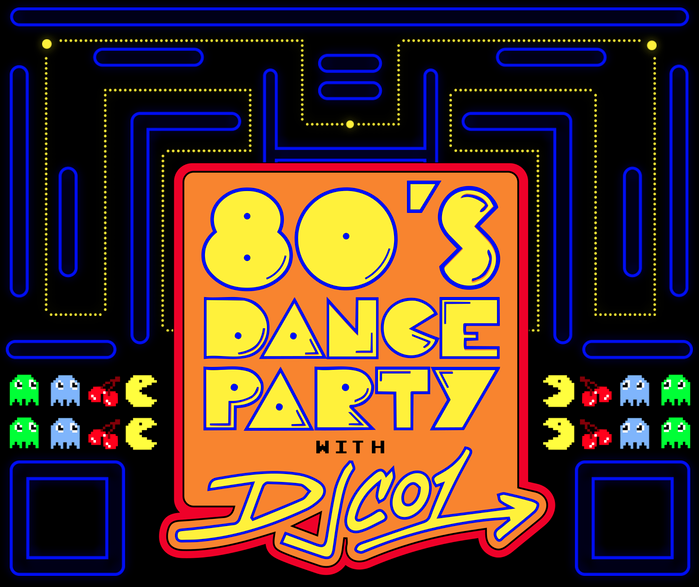 80s Dance Party featuring DJ CO1