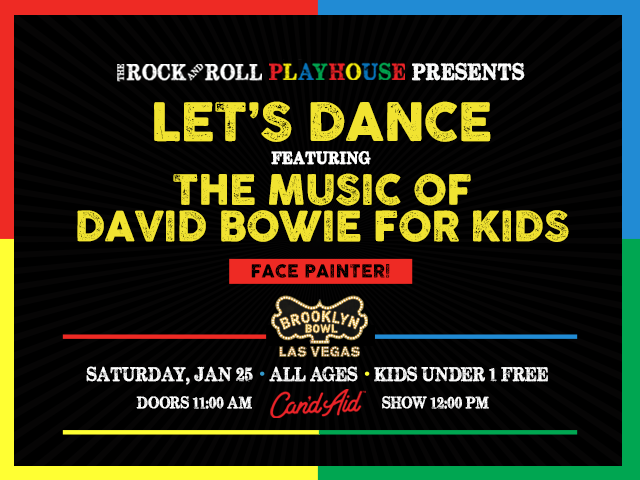 Let's Dance ft. the Music of David Bowie for Kids