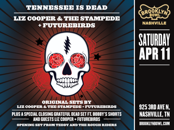 More Info for Liz Cooper & the Stampede + Futurebirds