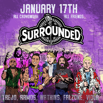 Surrounded at the Improv w/ Mike Falzone ft. Jeremiah Watkins, Jesus Trejo, Francisco Ramos, Papp Johnson, and Mav Viola!