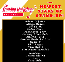 The Stand Up Workshop Class Showcase