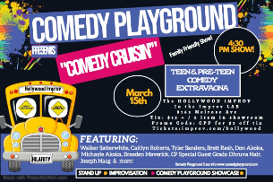 EVENT CANCELLED:  Comedy Playground