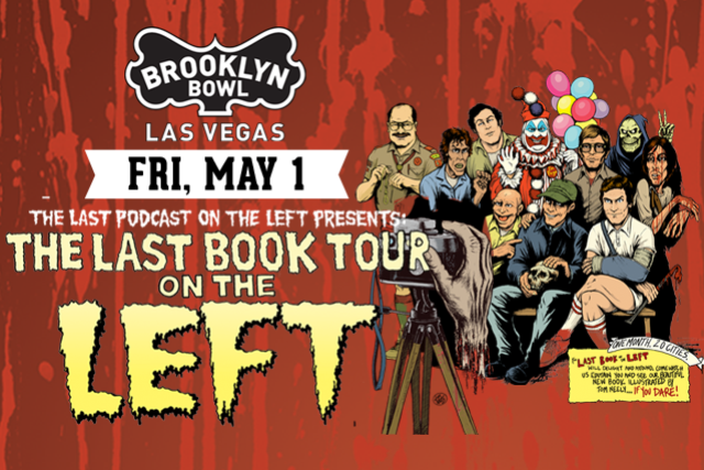 More Info for THE LAST BOOK TOUR ON THE LEFT