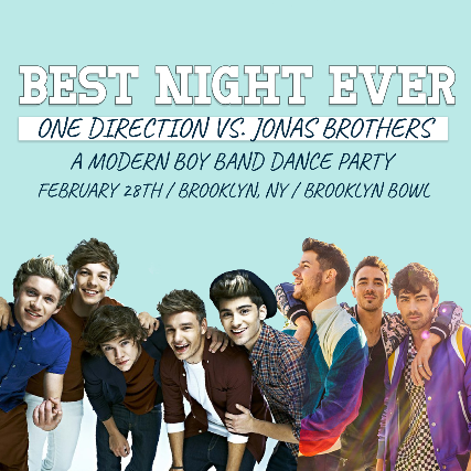 More Info for Best Night Ever: One Direction vs Jonas Brothers