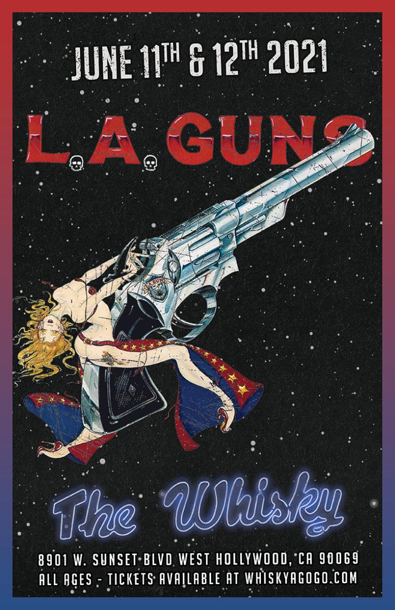 L.A. Guns, Stormbreaker, Don't Trip, Member, Angelshade, Taz Taylor Band