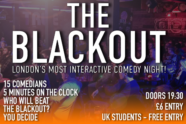 The Blackout Thu 27 Aug