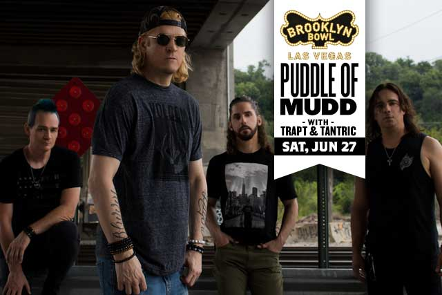 ***POSTPONED - DATE / TIME TBA *** Puddle of Mudd, Tantric, Crash Midnight