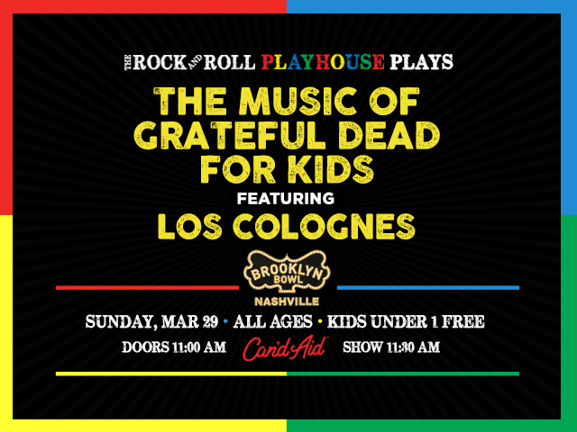 Music of Grateful Dead for Kids featuring Los Colognes