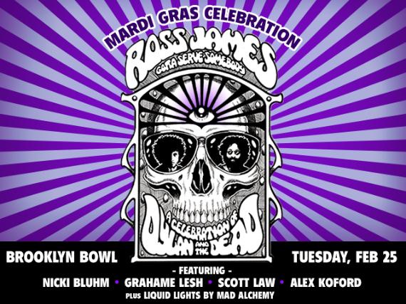 More Info for Ross James' Gotta Serve Somebody: A Celebration of Dylan & The Dead
