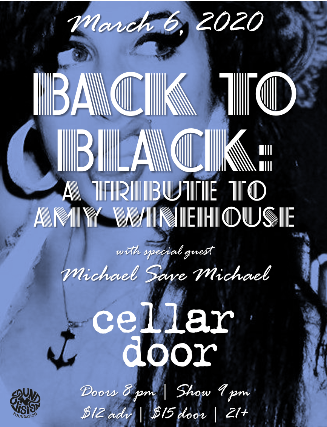 BACK TO BLACK: Tribute to Amy Winehouse at The Cellar Door