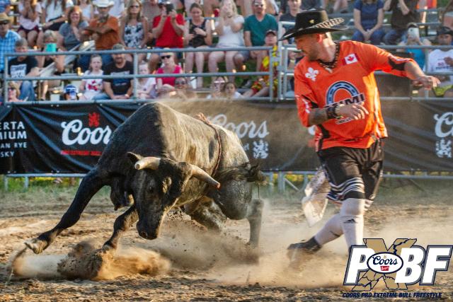 Orangeville Coors Pro Xtreme Bull Freestyle