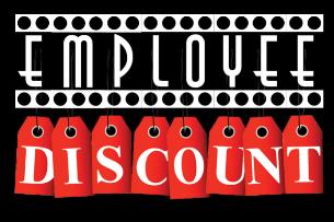 Employee Discount! w/ David Frederick, Rachel Abrahams, Anthony Casner,  Robert Fileta, Lydia Keating, Marie Giuffreda, Tyler Chatfield, Joey Cruz, Avery Johnson, Jason Yanakis, Jimmy Walsh, and more!