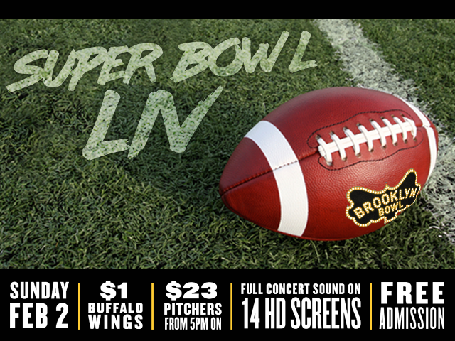 Super Bowl LIV with Full Concert Sound on 14 HD Screens