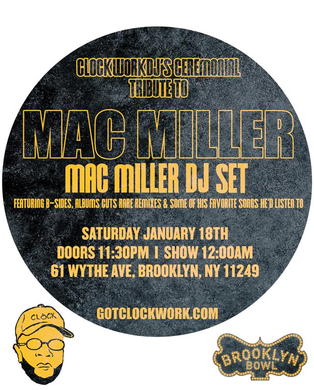 MAC MILLER: Birthday DJ Tribute