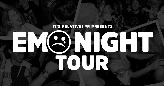 CANCELED - The Emo Night Tour at The Basement East