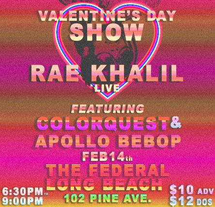 Rae Khalil, with special guest Apollo Bebop & Colorquest