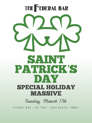 Saint Patrick's Day Special Holiday Massive