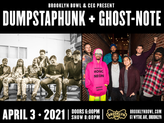 More Info for Dumpstaphunk + Ghost-Note