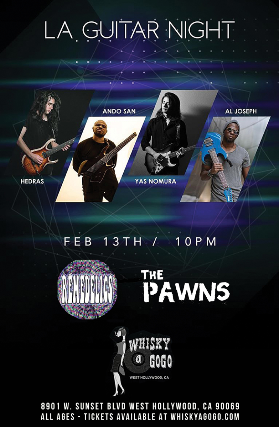 Hedras at Whisky A Go Go