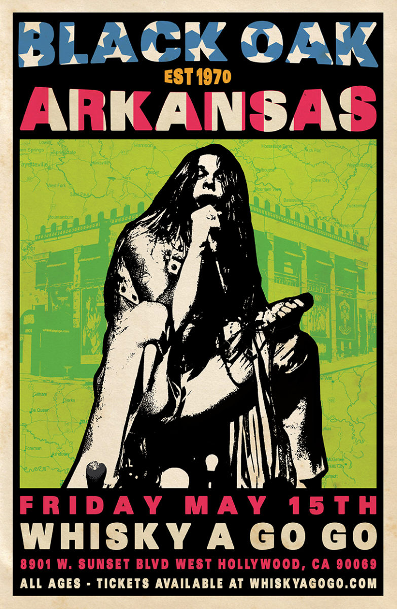 Black Oak Arkansas, Tennessee Werewolves, The Swansons, Apparition Coast