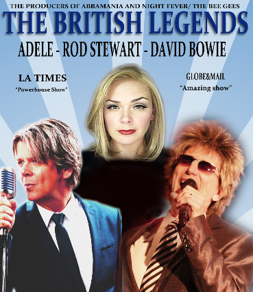 Image used with permission from Ticketmaster | The British Legends Live! - Tributes To Rod Stewart, David Bowie & Adele! tickets