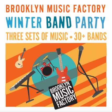 Brooklyn Music Factory Winter Band Party at Knitting Factory