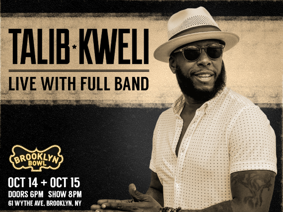 More Info for Talib Kweli LIVE with Full Band!