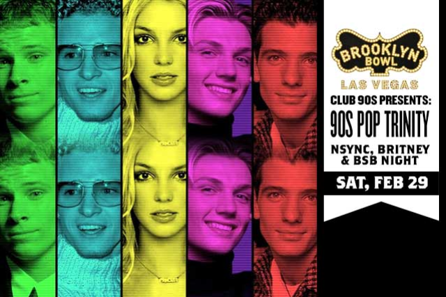 More Info for 90s Pop Trinity: NSYNC, Britney & BSB Night