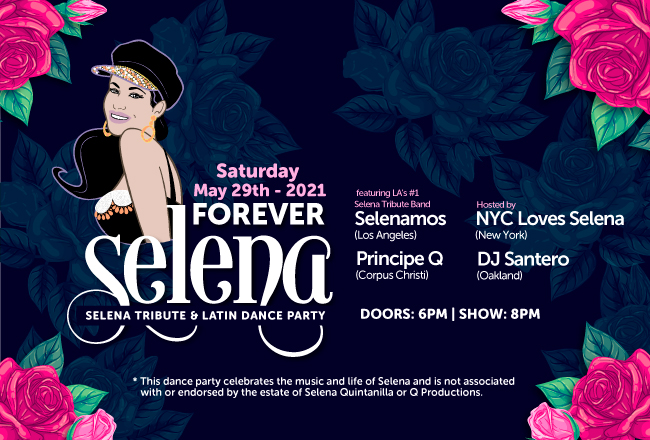 Forever Selena - Selena Tribute and Latin Dance Party