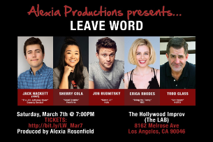 Leave Word ft. Todd Glass, Jon Rudnitsky, Erica Rhodes, Sherry Cola, Jack Hackett, and more!